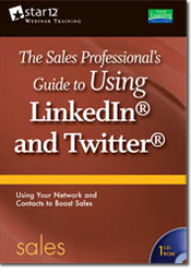 The Sales Professional's Guide to Using LinkedIn and Twitter